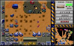 Atreides Base - Dune II Screenshot