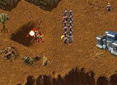KKND2: Krossfire Screenshot - The Great Escape - Captive Safe Zone
