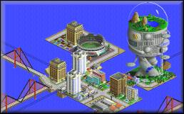 Water World - SimCity 2000 Screenshot